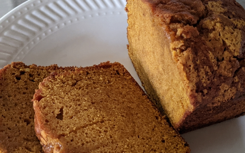 Robust Pumpkin Bread